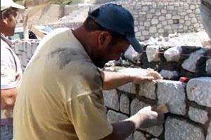Mur pierre de construction Toulouse 31 Midi Pyrénées